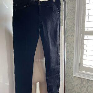 American Eagle Black Skinny Jeans size 12